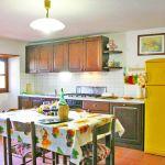Ferienhaus Toskana TOH840 Esstisch in der Küche