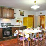Ferienhaus Toskana TOH840 Küche mit Tisch