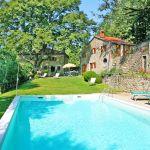 Ferienhaus Toskana TOH840 Liegen am Pool