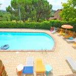Ferienhaus Toskana TOH850 Blick auf den Pool