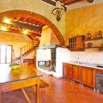 Ferienhaus Toskana TOH850 Tisch in der Küche