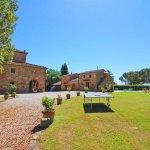 Ferienhaus Toskana TOH850 Tischtennisplatte im Garten