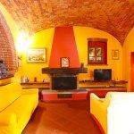 Ferienhaus Toskana TOH850 Wohnraum mit Kamin