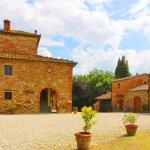 Ferienhaus Toskana TOH850 Zufahrt zum Haus