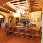 Ferienhaus Toskana TOH855 Essbereich mit Kamin