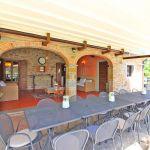Ferienhaus Toskana TOH855 Esstisch auf der Terrasse