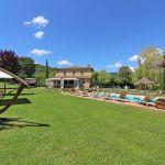 Ferienhaus Toskana TOH855 Rasen mit Hängematte