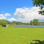 Ferienhaus Toskana TOH855 Rasenfläche mit Volleyballnetz