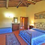 Ferienhaus Toskana TOH855 Schlafraum für 3 Personen