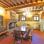 Ferienhaus Toskana TOH855 Wohnbereich mit Esstisch