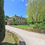 Ferienhaus Toskana TOH855 Zufahrt zum Haus