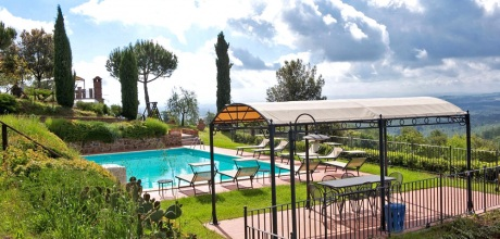 Ferienhaus Toskana Sinalunga 860 mit Pool und Panoramablick, Wohnfläche 300qm. Wechseltag Samstag, Nebensaison flexibel.