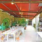 Ferienhaus Toskana TOH865 Esstisch auf der Terrasse