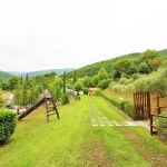 Ferienhaus Toskana TOH865 Garten mit Rutsche