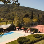 Ferienhaus Toskana TOH865 - Pool und Tennisplatz