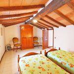 Ferienhaus Toskana TOH865 Schlafraum mit 2 Betten