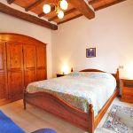 Ferienhaus Toskana TOH865 Schlafzimmer mit Doppelbett