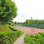 Ferienhaus Toskana TOH865 Weg zum Tennisplatz