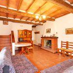 Ferienhaus Toskana TOH865 Wohnbereich mit Kamin