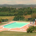 Ferienhaus Toskana TOH950 - sonniger Poolbereich