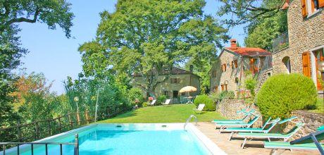 Toskana Ferienhaus Castiglion Fiorentino 840 mit Pool für 15 Personen, Wohnfläche 250qm. Wechseltag Samstag, Nebensaison flexibel auf Anfrage.