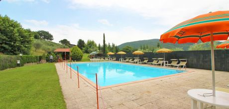 Ferienhaus Toskana Cortona 865 mit Pool, Kinderpool und Tennisplatz, kostenlose Stornierung bis 45 Tage vor Anreise für alle Neubuchungen, Wechseltag Samstag, Nebensaison flexibel.