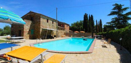 Ferienhaus Toskana Lucignano 850 mit großem Pool und Internet, Wohnfläche 350qm. Wechseltag Samstag, Nebensaison flexibel auf Anfrage.