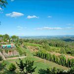 Ferienhaus Toskana 860 Ausblick
