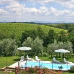 Ferienhaus Toskana TOH500 - Garten mit Ausblick