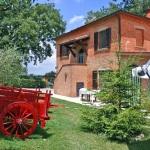 Ferienhaus Toskana TOH500 - Gartenanlage