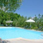 Ferienhaus Toskana TOH500 Gartenmöbel am Pool