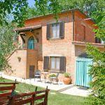 Ferienhaus Toskana TOH500 Gartenmöbel auf der Terrasse