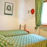 Ferienhaus Toskana TOH500 Schlafraum mit 2 Betten