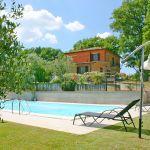 Ferienhaus Toskana TOH500 Sonnenliegen am Pool