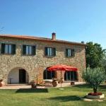 Ferienhaus Toskana TOH510 - Blick auf das Haus