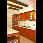 Ferienhaus Toskana TOH510 - Küche mit Ofen