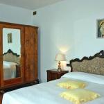 Ferienhaus Toskana TOH510 - Schlafraum mit Doppelbett