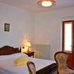 Ferienhaus Toskana TOH510 - Schlafzimmer mit Doppelbett
