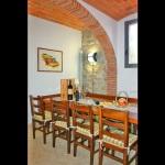 Ferienhaus Toskana TOH510 - großer Esstisch