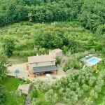 Ferienhaus Toskana TOH515 Blick auf das Anwesen