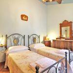 Ferienhaus Toskana TOH515 Schlafraum mit 2 Betten