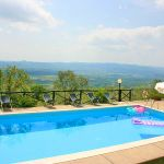 Ferienhaus Toskana TOH515 Swimmingpool mit Ausblick