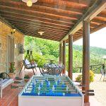 Ferienhaus Toskana TOH515 Tischfussball auf der Terrasse