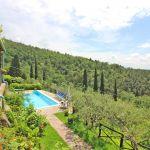 Ferienhaus Toskana TOH520 Blick auf den Pool