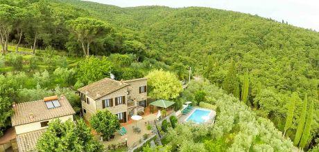 Ferienhaus Toskana San Giustino Valdarno 520 mit Pool und Ausblick, Wohnfläche 160qm. Wechseltag Samstag, Nebensaison flexibel auf Anfrage.