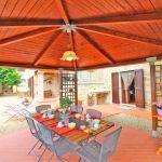 Ferienhaus Toskana TOH520 Pavillion mit Esstisch