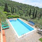 Ferienhaus Toskana TOH520 Pool mit Sonnenliegen
