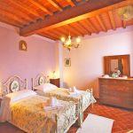 Ferienhaus Toskana TOH520 Schlafraum mit 2 Betten