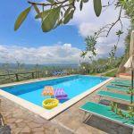 Ferienhaus Toskana TOH520 Sonnenliegen am Pool