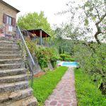 Ferienhaus Toskana TOH520 Weg zum Pool